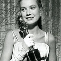 Grace Kelly At Awards Show Print by Retro Images Archive