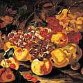 Grapes, Apples And Quinces, 1700 - 1710 Print by