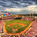 Great American Ballpark Print by Shawn Everhart