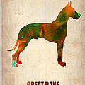 Great Dane Poster Print by Irina  March