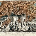 Great Fire of New York, 1776 Print by Science Photo Library