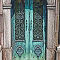 Green Patina Poster by Marcia Lee Jones