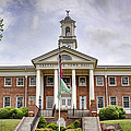 Greeneville Town Hall Poster by Heather Applegate