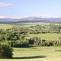 Greenland Ranch Print by Eric Glaser
