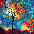 Greeting the Dawn by MADART Poster by Megan Duncanson
