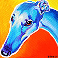 Greyhound - Lizzie Print by Alicia VanNoy Call