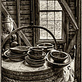 Grist Mill Poster by Donnie Bagwell