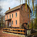 Grist Mill in Deep River County Park Poster by Paul Velgos