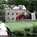 Gristmill Art Print by Jayne Carney
