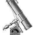 Grubb equatorial telescope, Hungary Print by Science Photo Library