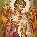 Guardian Angel Print by Julia Bridget Hayes
