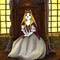 Guinefurre Cat Queen Poster by Tara Fly