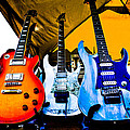 Guitar Trio Print by David Patterson