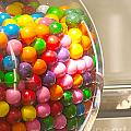 Gumball Machine Poster by Artist and Photographer Laura Wrede