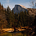 Half Dome Spring Print by Bill Gallagher