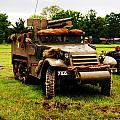 Half- Track Poster by Jame Hayes