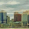 Halifax from the Harbour Poster by Jeff Kolker