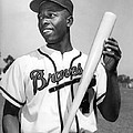 Hank Aaron Poster Print by Sanely Great