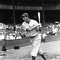 Hank Greenberg Pre Game Swinging Print by Retro Images Archive
