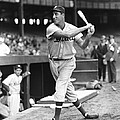 Hank Greenberg Stance And Swing Print by Retro Images Archive