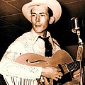 Hank Williams Sr. Poster by PG REPRODUCTIONS