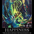 Happiness SOLD Poster by Sylvia Greer