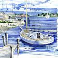 Harbor View Print by Paul Brent