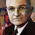 Harry S. Truman Print by Corporate Art Task Force