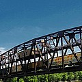Hastings Train Bridge Poster by Todd and candice Dailey
