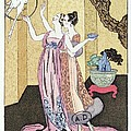 Have you had a good dinner Jacquot? Poster by Georges Barbier