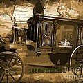 Hearse Poster Poster by Crystal Loppie