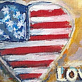Heart Love USA by Bernadette Krupa
