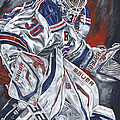 Henrik Lundqvist Poster by David Courson