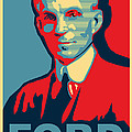 Henry Ford Print by Design Turnpike