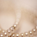 Her Pearls Print by Trish Mistric