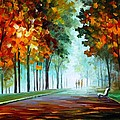 HEROES FROM THE FOG Poster by Leonid Afremov