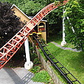 Hershey Park - Storm Runner Roller Coaster - 12121 Poster by DC Photographer