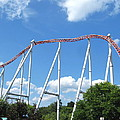 Hershey Park - Storm Runner Roller Coaster - 12126 by DC Photographer