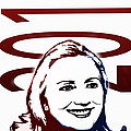 Hillary 2016 Poster by Jost Houk