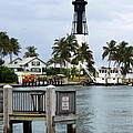 Hillsboro Inlet Light Poster by Christiane Schulze Art And Photography