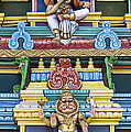 Hindu Temple Deity Statues Poster by Tim Gainey