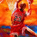 His Airness Print by Lourry Legarde