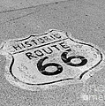Historic Route 66 Print by Kay Pickens