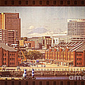 Historical Red Brick Warehouses Print by Beverly Claire Kaiya