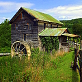 Historical Whites Mill Print by KAREN WILES