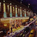 Hockey Memories - Maple Leaf Gardens Print by BRENT ARLITT