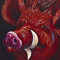 Hog Fan Print by Shawna Elliott