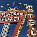 Holiday Motel Las Vegas Poster by Edward Fielding