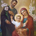 Holy Family Print by Svitozar Nenyuk