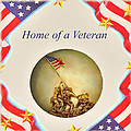 Home of a Veteran Print by Charles Ott